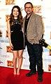 Miranda Cosgrove, Steve Carell, Australian premiere, Despicable Me 2-1.jpg