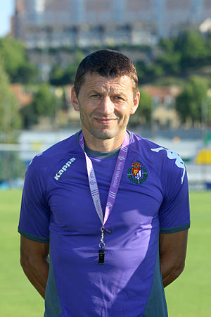 Miroslav Đukić - Đukić as Real Valladolid manager in 2012
