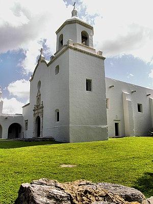Mission Nuestra Señora del Espíritu Santo de Zúñiga - The chapel of Mission Nuestra Señora del Espíritu Santo de Zúñiga.