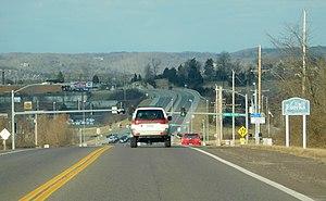 Eureka, Missouri - Entering Eureka along State Route 109