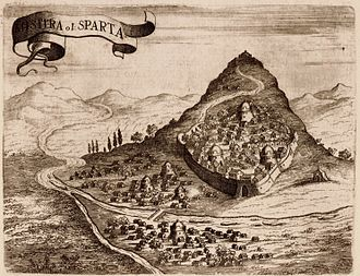 Mystras - Mystras, 1686.