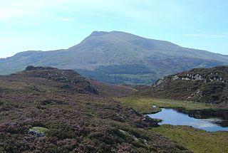 Moel Siabod Mountain in Snowdonia, Wales