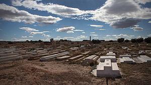 Mohamed Bouazizi - Mohamed Bouazizi's grave (front right)