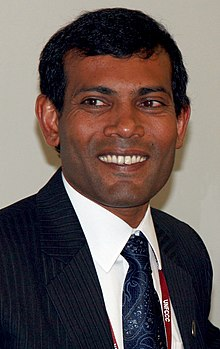 Mohamed Nasheed, septembre 2009
