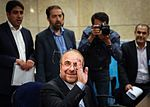 Mohammad Bagher Ghalibaf registering at the 2017 Iranian presidential election 09.jpg