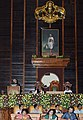 Mohammad Hamid Ansari addressing at the Special Sitting of the Kerala Legislative Assembly on the occasion of the 125th Anniversary Celebrations of the Legislative bodies in Kerala, in Thiruvananthapuram, Kerala.jpg