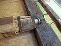 Molen Weseker standerdmolen Duitsland, bovenas insteekpen.jpg