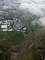 Molinsburn motorway junction from the air (geograph 5308137).jpg