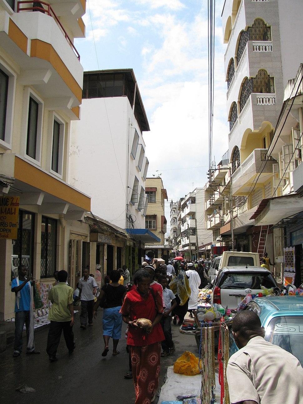 Mombasa biashara street