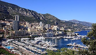 City-state - Monaco, known for its casino, royalty and scenic harbour