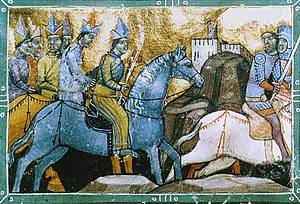 Bosnian Crusade - Hungarians fleeing Mongol invaders