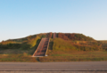 Monks Mound (adult on top for scale).png