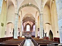 Montbozon. Nef de l'église. 2014-09-13.JPG