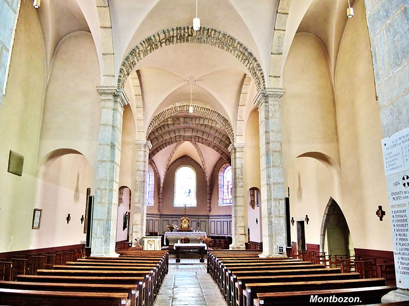 Église de la Nativité-de-Notre-Dame de Montbozon