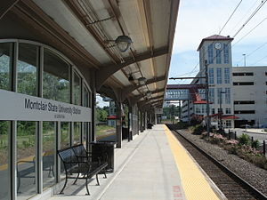 Montclair State University station - Image: Montclair State University Station at Little Falls (2006)
