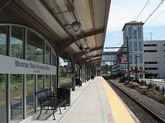 Montclair State University station - Image: Montclair State University Station at Little Falls (2006)