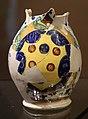 Montelupo, boccale con decoro alla porcellana e stemma medice, 1500-20 ca.jpg