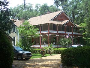 National Register of Historic Places listings in Jefferson County, Florida - Image: Monticello FL Girardeau House 01