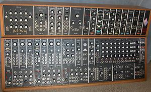 Moog modular synthesizer - Moog Modular 55