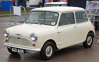 Mini (marque) - 1959 Morris Mini-Minor