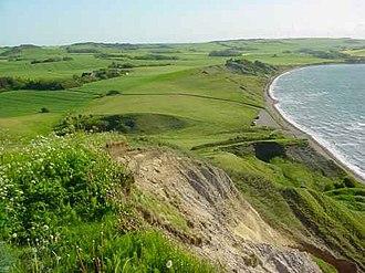 Mors (island) - Hanklit cliffs, Mors