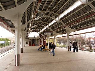 Vystavochny Tsentr Moscow Monorail station
