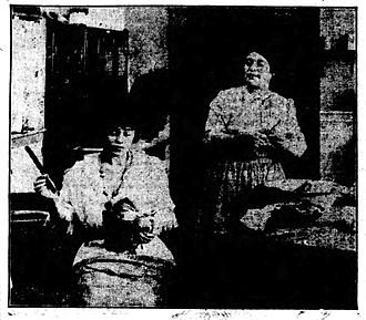 Mother (1914 film) - Contemporary newspaper publicity image.