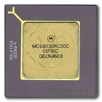 Motorola 68030 - Motorola 68030 microprocessor