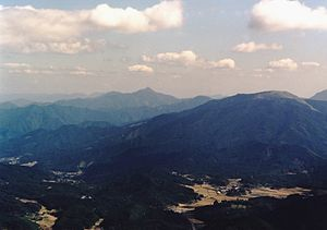 Mount Tsubone from Mount Kuroso.jpg
