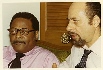 Mousey Alexander - Mousey and Clark Terry in December 1970