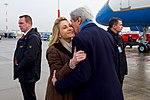Mrs. Emerson Greets Secretary Kerry Upon Arrival to Hamburg (31341207962).jpg