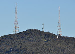 Mount Sugarloaf (New South Wales) - Mount Sugarloaf viewed from West Wallsend