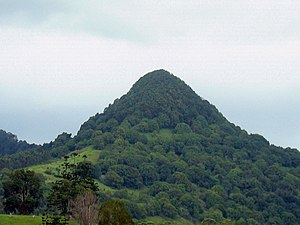 Mount Chincogan - Image: Mullumbimby New South Wales