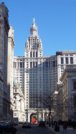 WNYC - Manhattan Municipal Building, WNYC's home from 1922 to 2008