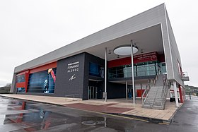 Museo Fernando Alonso entrance 2017 March.jpg