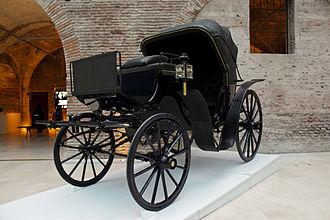 Victoria (carriage) - Argentine Presidential Victoria in the Museo del Bicentenario, Buenos Aires