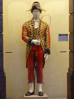 Coach (carriage) - A Portuguese Royal Coach driver's uniform