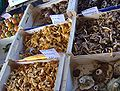 Mushrooms, Wednesday market, Salon-de-Provence.JPG