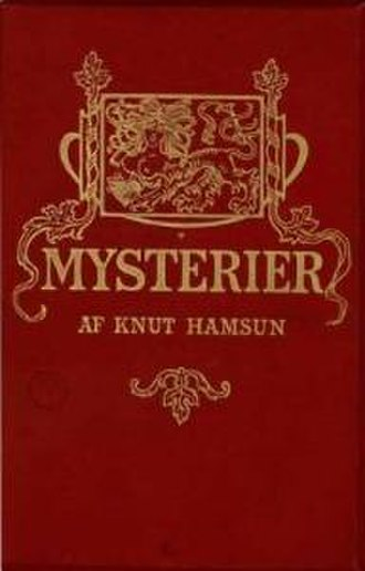 Mysteries (novel) - First edition cover