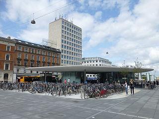 Nørreport Station Copenhagen metro station