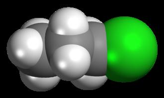 N-Propyl chloride - Image: N propyl Chloride