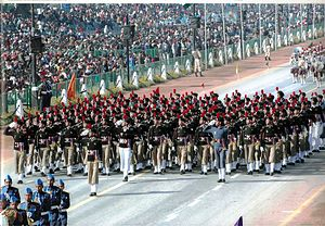 National Cadet Corps (India) - NCC parade