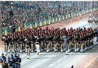 Militarism - Military parade in India