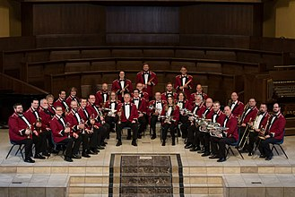 British brass band - Nebraska Brass Band 2018