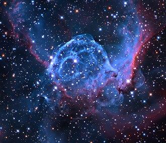 NGC 2359 - Image: NGC 2359, Thor's Helmet (core)