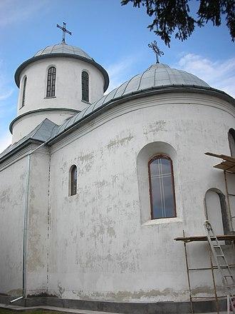 Horodok, Lviv Oblast - Image: NSH Gorodok Frantsyskanskiy Monastyr 002 2