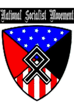 The National Socialist Movement's new logo