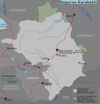 Nagorno-Karabakh regions map.png