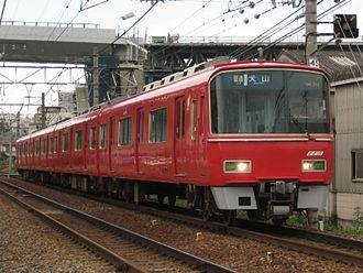 Meitetsu Nagoya Main Line - 3500 series EMU on a commuter service