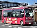 Nara Kotsu 821 at Horyuji Station-1.jpg
